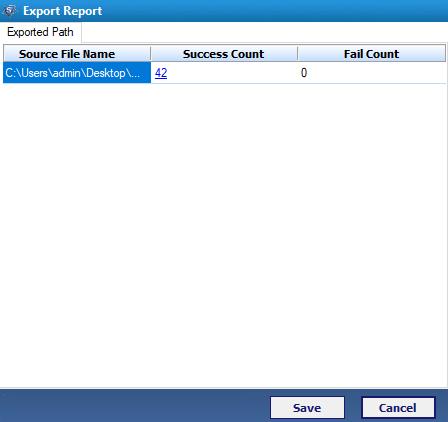 Exporting Process